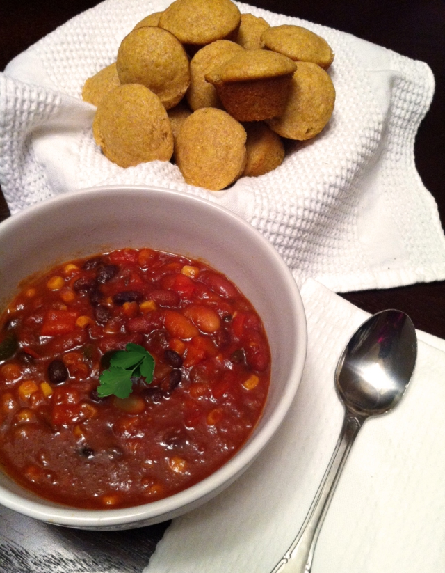 Robin miller the sunny sides up my friend jess inspired me to make some chili i used this recipe for vegetarian chili courtesy of robin miller from the food network forumfinder Choice Image